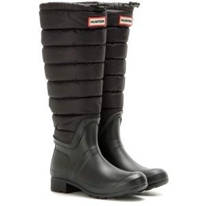 HUNTER Original Quilted Leg Wellington Boots